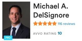 Delsignore Avvo Rating 10