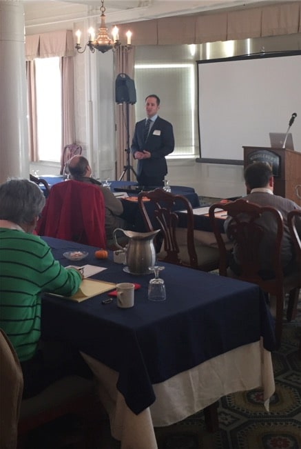 Attorney DelSignore speaking on DRE's at the Vermont Association of Criminal Defense