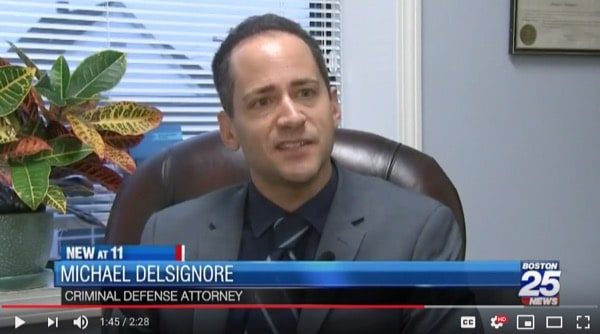 Attorney DelSignore was featured on Fox 25 news