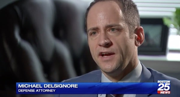 Boston's Fox 25 News interviewed Attorney DelSignore