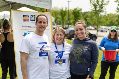 Attorney DelSignore & Attorney Gaudreau participated in the 9th Annual Make Tracks for Kids 5k Run/Walk